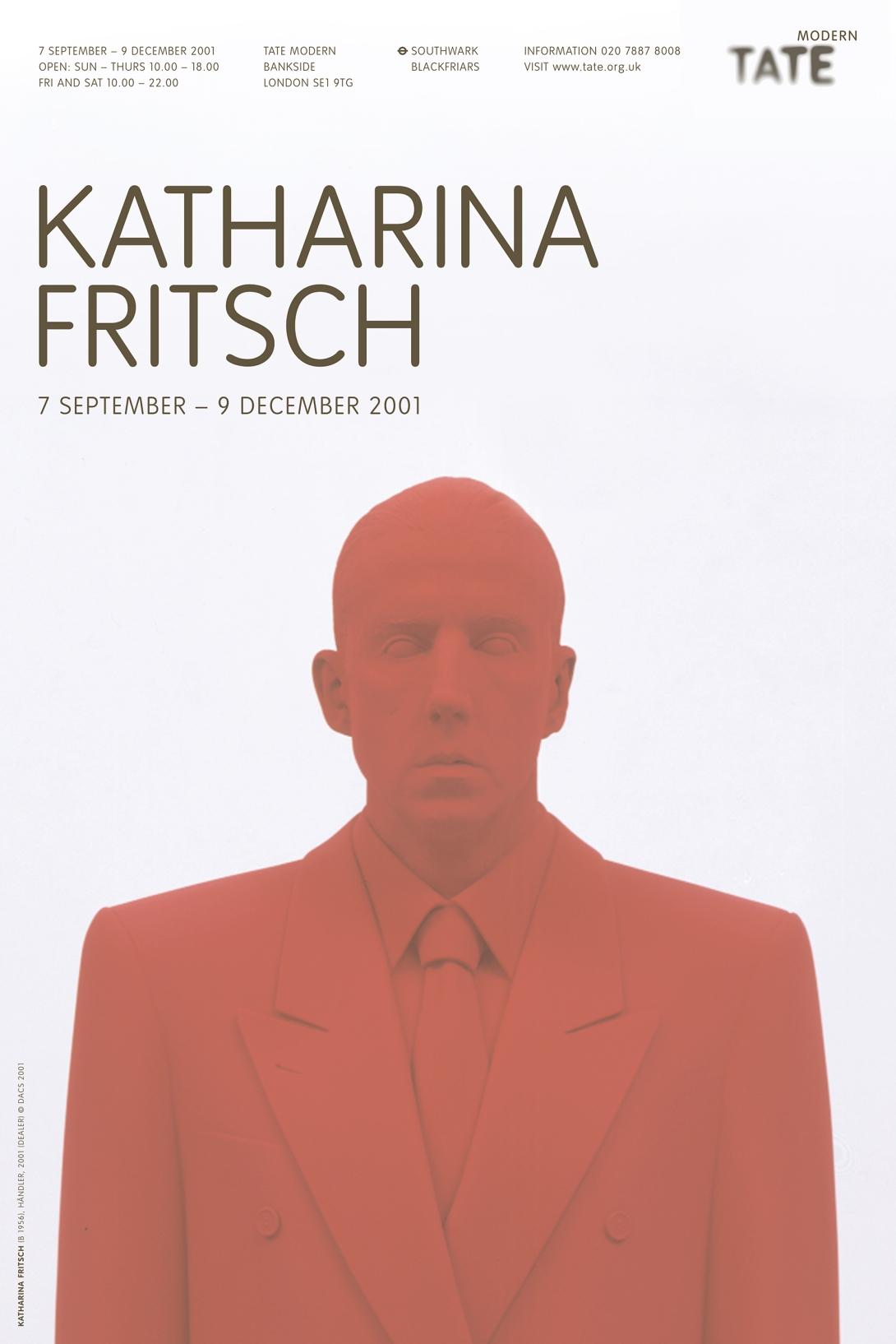 Fritsch poster a/w