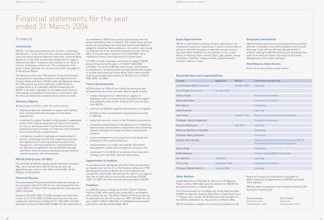 Annual report a/w